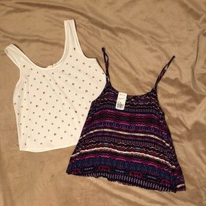 Bundle of 2 F21 dressy tank tops! Both size Small